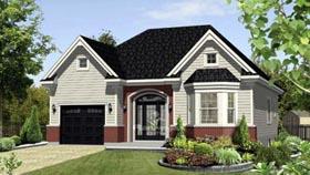 House Plan 52541 Elevation