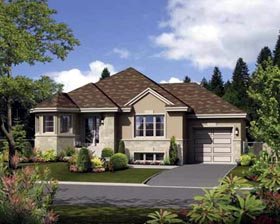 House Plan 52543 Elevation