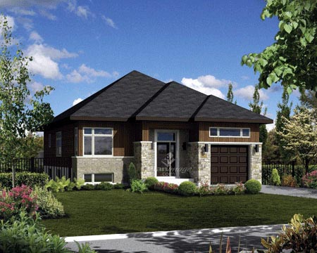 House Plan 52546 Elevation