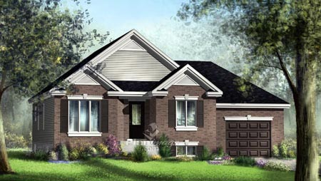 House Plan 52550 Elevation