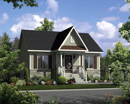 House Plan 52551 Elevation