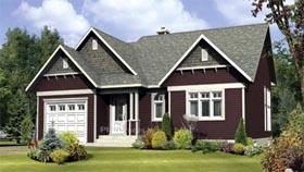House Plan 52552 Elevation