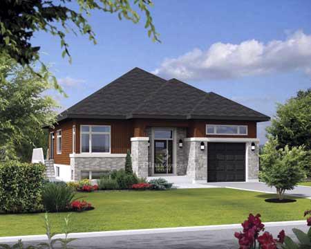 House Plan 52556 Elevation