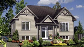 House Plan 52557 Elevation