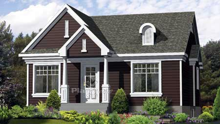 House Plan 52558 Elevation