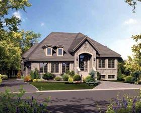 House Plan 52559 Elevation
