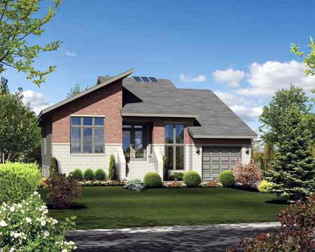 House Plan 52562 Elevation