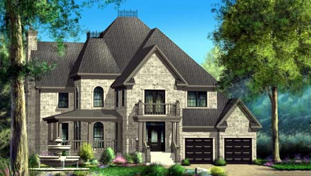 House Plan 52566 Elevation