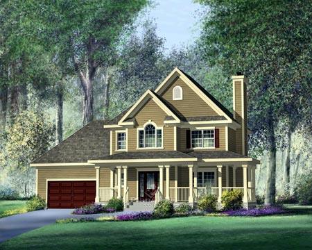 House Plan 52567 Elevation