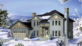 House Plan 52570 Elevation