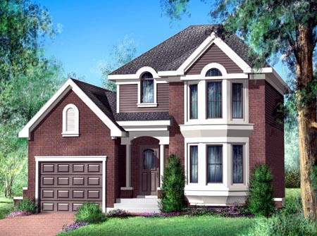 House Plan 52579 Elevation