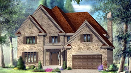 House Plan 52580 Elevation