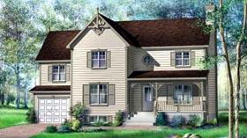 House Plan 52582 Elevation