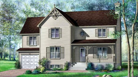 House Plan 52582 Elevation