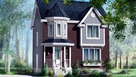 House Plan 52584 Elevation
