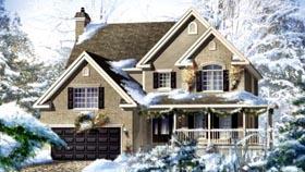 House Plan 52585 Elevation