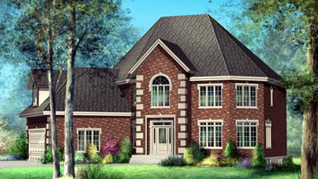 House Plan 52590 Elevation