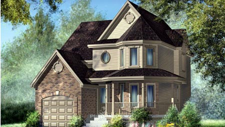 House Plan 52592 Elevation