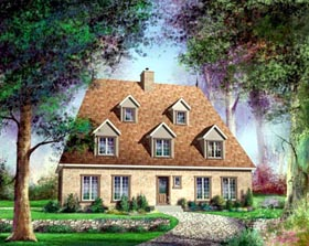 House Plan 52594 Elevation