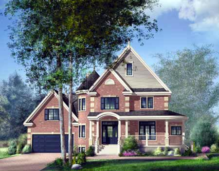 House Plan 52595 Elevation