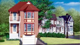 House Plan 52596 Elevation