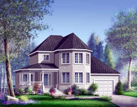 House Plan 52602 Elevation