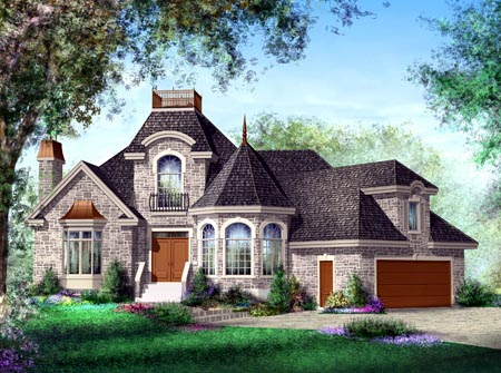 House Plan 52603 Elevation