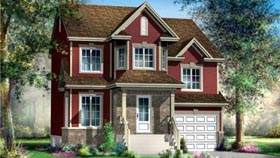 House Plan 52606 Elevation