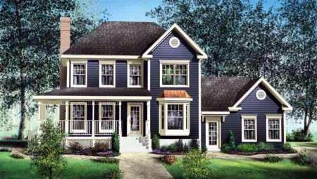 House Plan 52607 Elevation