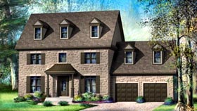 House Plan 52609 Elevation