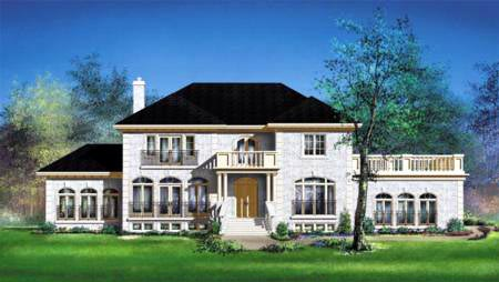House Plan 52610 Elevation