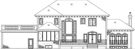 House Plan 52610 Rear Elevation