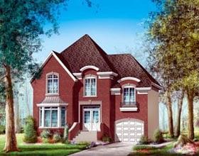 House Plan 52612 Elevation