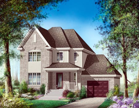 House Plan 52615 Elevation