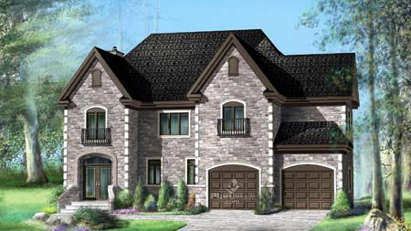 House Plan 52618 Elevation