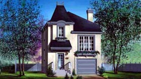 House Plan 52622 Elevation