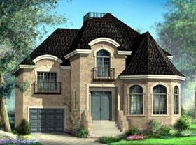 House Plan 52624 Elevation