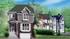House Plan 52625 Elevation