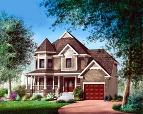 House Plan 52626 Elevation