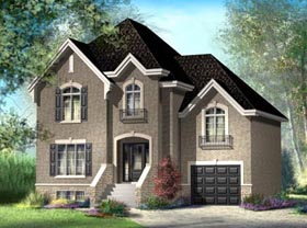 House Plan 52629 Elevation