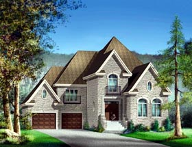 House Plan 52630 Elevation