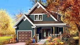 House Plan 52632 Elevation