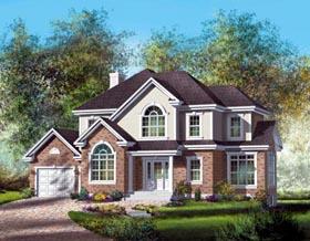 House Plan 52633 Elevation