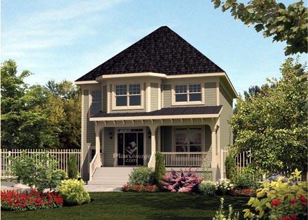 House Plan 52635 Elevation