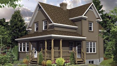 House Plan 52636 Elevation