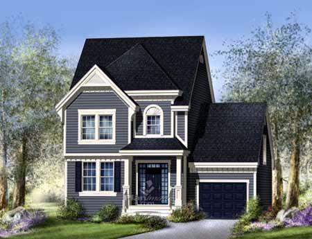 House Plan 52637 Elevation