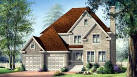 House Plan 52640 Elevation
