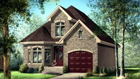 House Plan 52641 Elevation