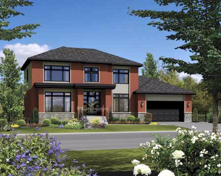 House Plan 52644 Elevation