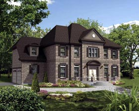 House Plan 52646 Elevation